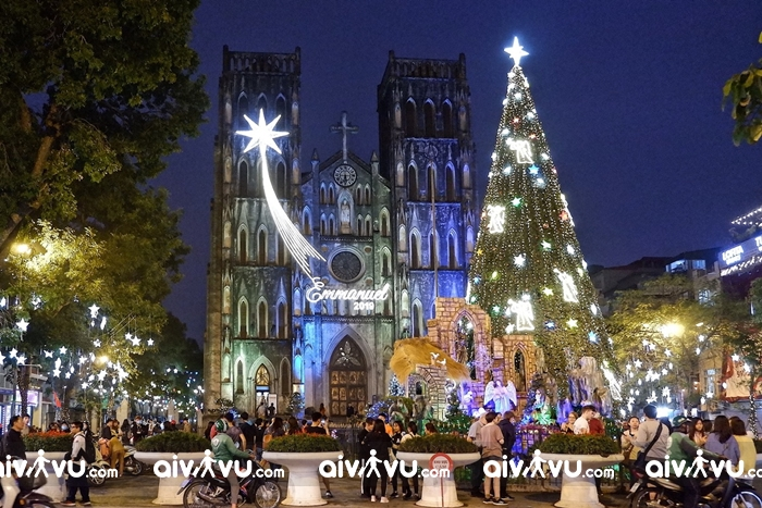 Du lịch Hà Nội mùa Noel