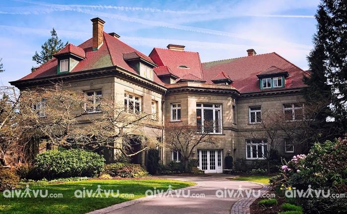 Pittock Mansion điểm du lịch nổi tiếng của Portland