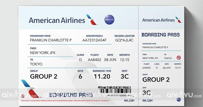 Quy định hoàn đổi vé máy bay bay American Airlines mới nhất