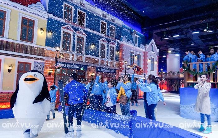 Snow Town Quận 2 Châu Âu của Sài Gòn