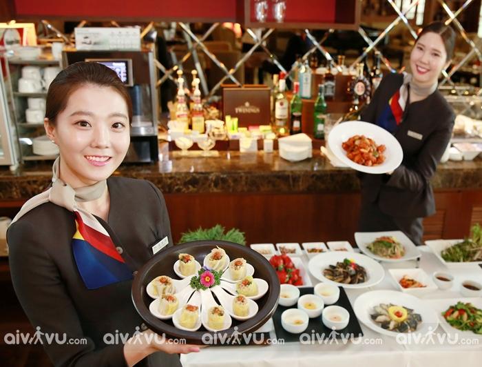 Tìm hiểu các suất ăn được phục vụ trên máy bay Asiana Airlines