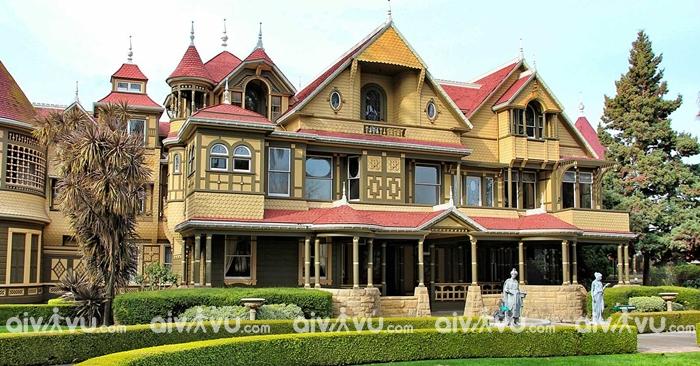 Winchester Mystery House một trong những điểm du lịch nổi tiếng tại San Jose