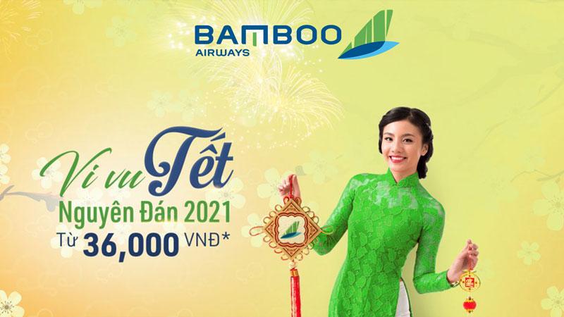 Bamboo Airways mở bán vé Tết 2021
