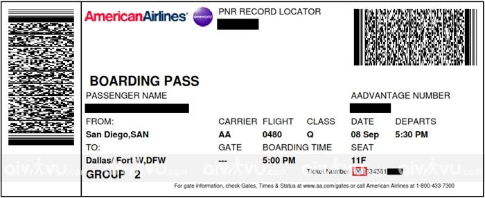 Đặt vé máy bay sai tên phải làm thế nào?