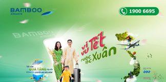 Bamboo Airways khuyến mãi rước lộc xuân 2021 săn vé chỉ 36.000 VND