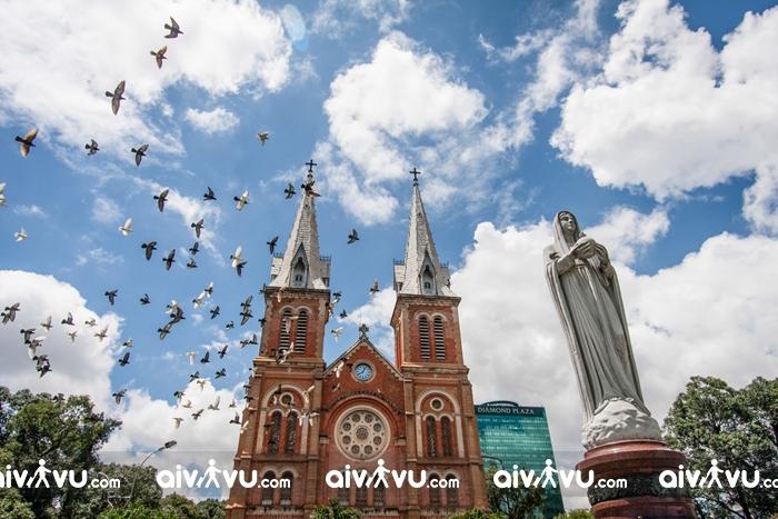 Đón giáng sinh ấm áp ở Thành phố Hồ Chí Minh