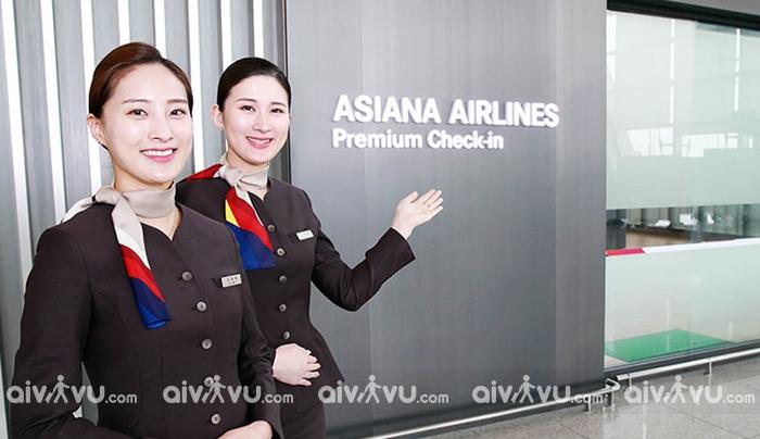 Sử dụng phòng chờ trước khi lên máy bay cùng Asiana Airlines