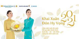 Vietnam Airlines khuyến mãi khai xuân hi vọng chỉ từ 1.030.000 VND