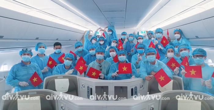 Hướng dẫn thủ tục, quy trình đăng ký chuyến bay về Việt Nam