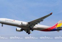 Lịch bay của hãng hàng không Asiana Airlines về Việt Nam
