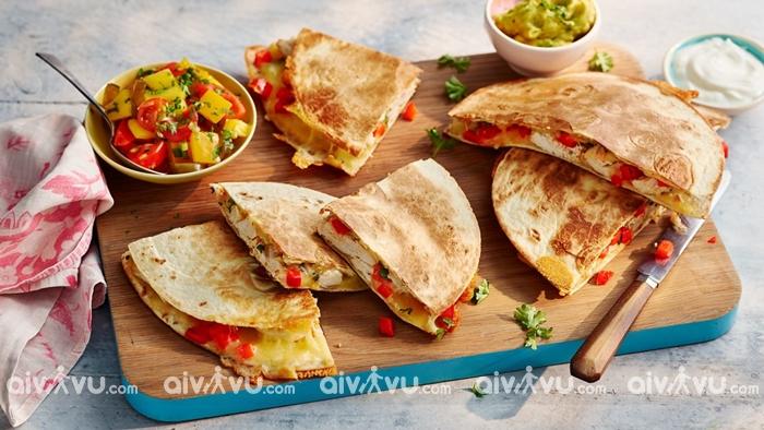 Quesadillas món bánh được yêu thích tại San Diego
