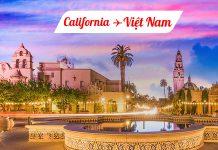 Vé máy bay từ California về Việt Nam giá rẻ