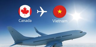 Vé máy bay từ Canada về Việt Nam giá rẻ