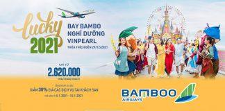Khuyến mãi combo bay Bamboo Airways nghỉ dưỡng Vinpearl chỉ từ 2.620.000 VND