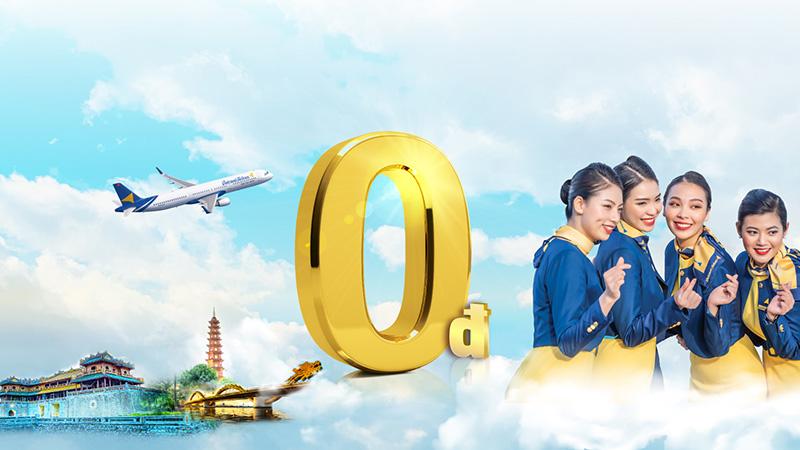 Vietravel Airlines khuyến mãi khai trương vé máy bay chỉ từ 0 đồng