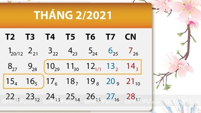 Tết Nguyên Đán 2021 là Năm Con Gì? Nghỉ Bao Lâu? Thời Tiết Ra Sao?