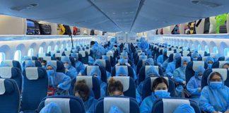 Tổng hợp các chuyến bay thương mại quốc tế về Việt Nam 2021