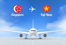 Vé máy bay từ Singapore về Việt Nam giá rẻ