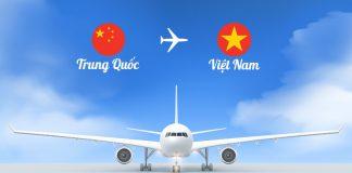 Vé máy bay từ Trung Quốc về Việt Nam