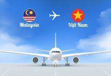 Vé máy bay từ Malaysia về Việt Nam giá rẻ