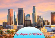 Vé máy bay từ Los Angeles về Việt Nam giá rẻ