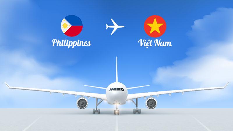 Gửi hàng hóa, giấy tờ từ Philippines về Việt Nam giá rẻ