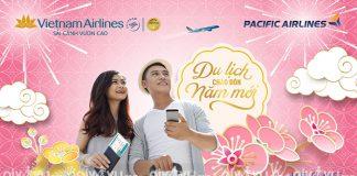 Vietnam Airlines khuyến mãi Năm mới Du lịch thả ga chỉ từ 502.000 VND