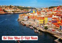 Vé máy bay từ Bồ Đào Nha về Việt Nam giá rẻ