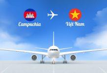 Vé máy bay từ Campuchia về Việt Nam giá rẻ