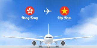 Vé máy bay từ Hong Kong về Việt Nam giá rẻ