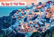 Vé máy bay từ Hy Lạp về Việt Nam giá rẻ