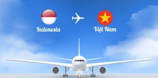 Vé máy bay từ Indonesia về Việt Nam giá rẻ