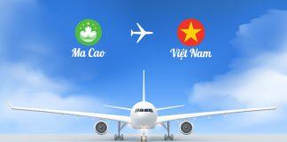 Vé máy bay từ Macau về Việt Nam giá rẻ