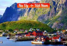Vé máy bay từ Nauy về Việt Nam giá rẻ