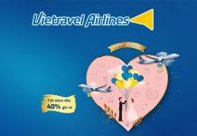 Vietravel Airlineskhuyến mãi Happy Weddinggiảm giá lên đến 40%