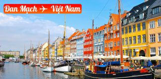 Vé máy bay từ Đan Mạch về Việt Nam giá rẻ