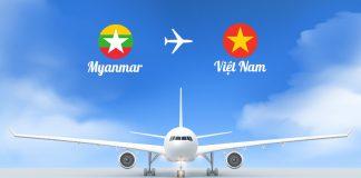 Vé máy bay từ Myanmar về Việt Nam giá rẻ