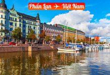 Vé máy bay từ Phần Lan về Việt Nam giá rẻ