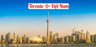 Vé máy bay từ Toronto về Việt Nam giá rẻ