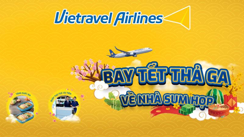 Vietravel khuyến mãi Bay Tết thả ga, về nhà sum họp