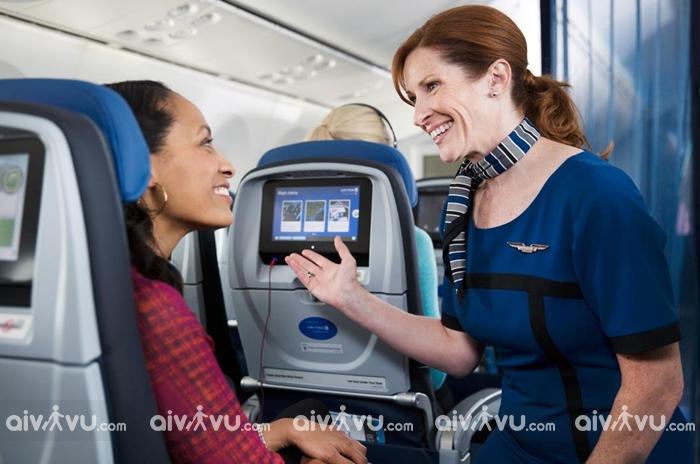 Các hạng ghế mà United Airlines đang khai thác