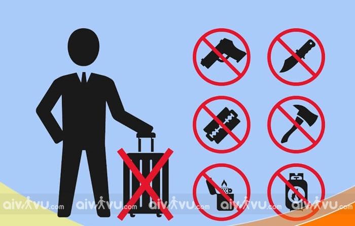 Các mặt hàng hạn chế trong hành lý xách tay American Airlines