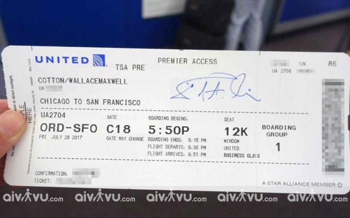Cách mua vé máy bay United Airlines giá rẻ