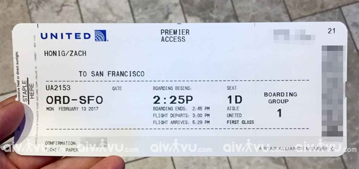 Điều kiện đổi ngày vé máy bay United Airlines