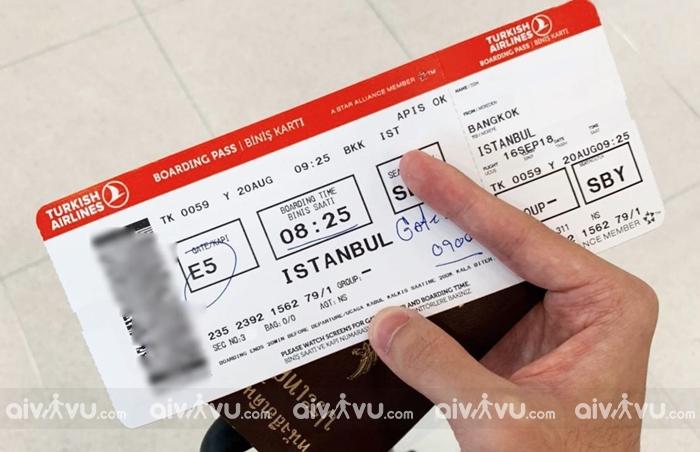 Điều kiện hoàn đổi vé máy bay Turkish Airlines