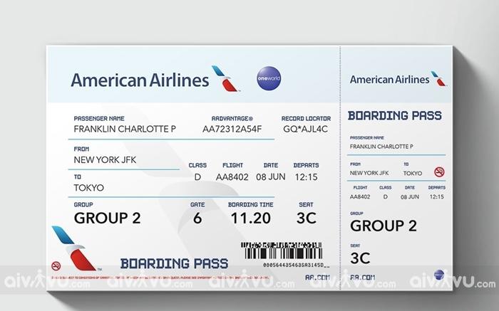 Hướng dẫn hoàn hủy vé máy bay American Airlines