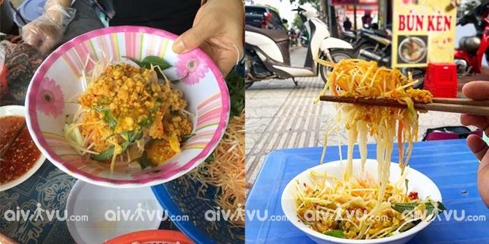 Quán bún Kèn ngon ở Phú Quốc món ăn đặc sản của Đảo ngọc