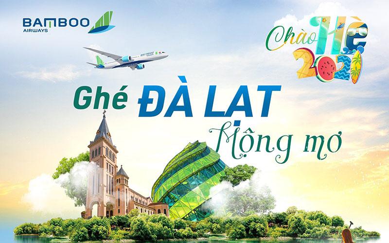 Bamboo Airways khuyến mãi mua chiều đi tặng chiều về vé máy bay đi Đà Lạt