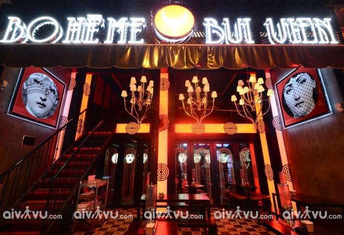 Boheme – Bar Sài Gòn nổi tiếng