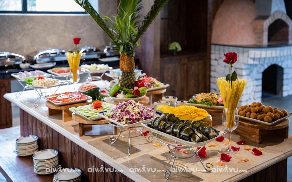 Bữa sáng miễn phí tại Sapa Catcat Hills Resort